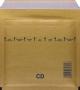 Légpárnás (buborékos) Boríték, Tasak CD - Aranybarna